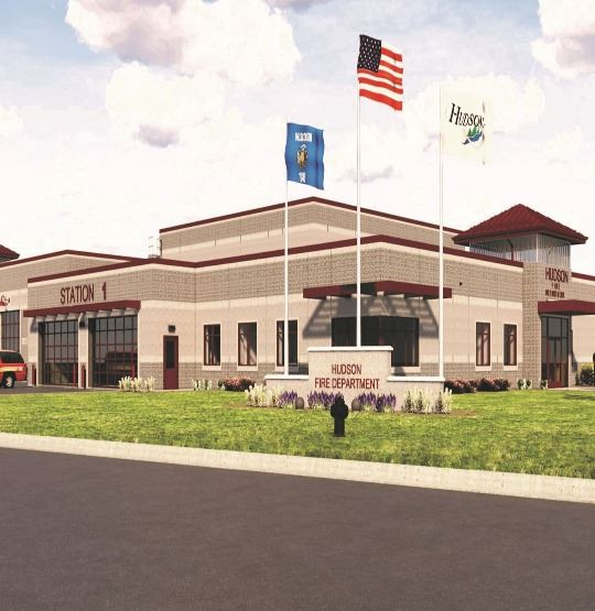 City of Hudson Fire Station Rendering